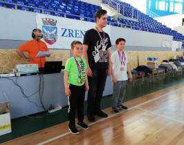 Najbolji juniori Zrenjanin Indoor Open